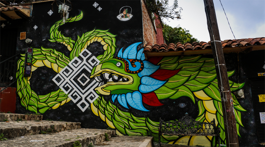 Graffiti in San Cristobal