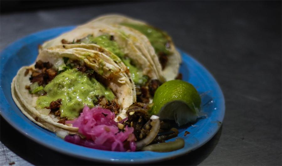 Street Tacos Oaxaca Mexico