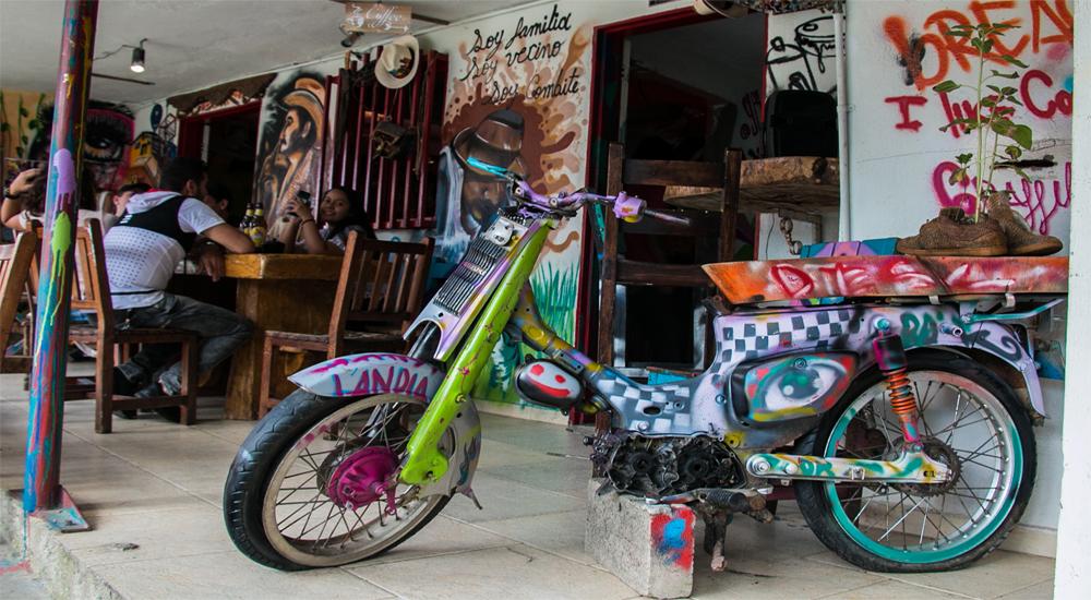 Comuna 13 Medellin Colombia: Cafe Aroma de Barrio