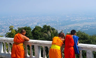 Meditating at Doi Suthep
