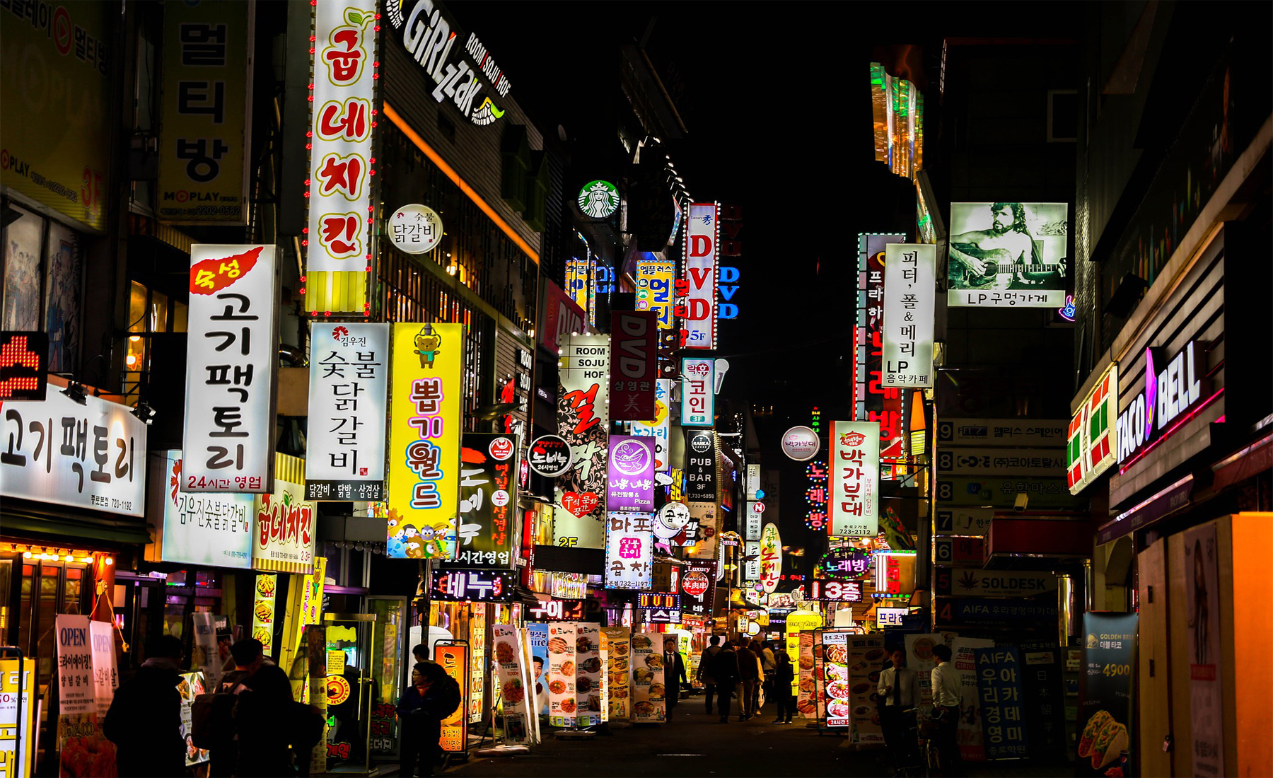 Seoul: Jet Lag, and the Art of Suction Cup Chewing
