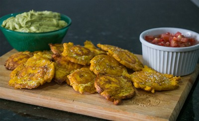 Tostones: Fried Plantains
