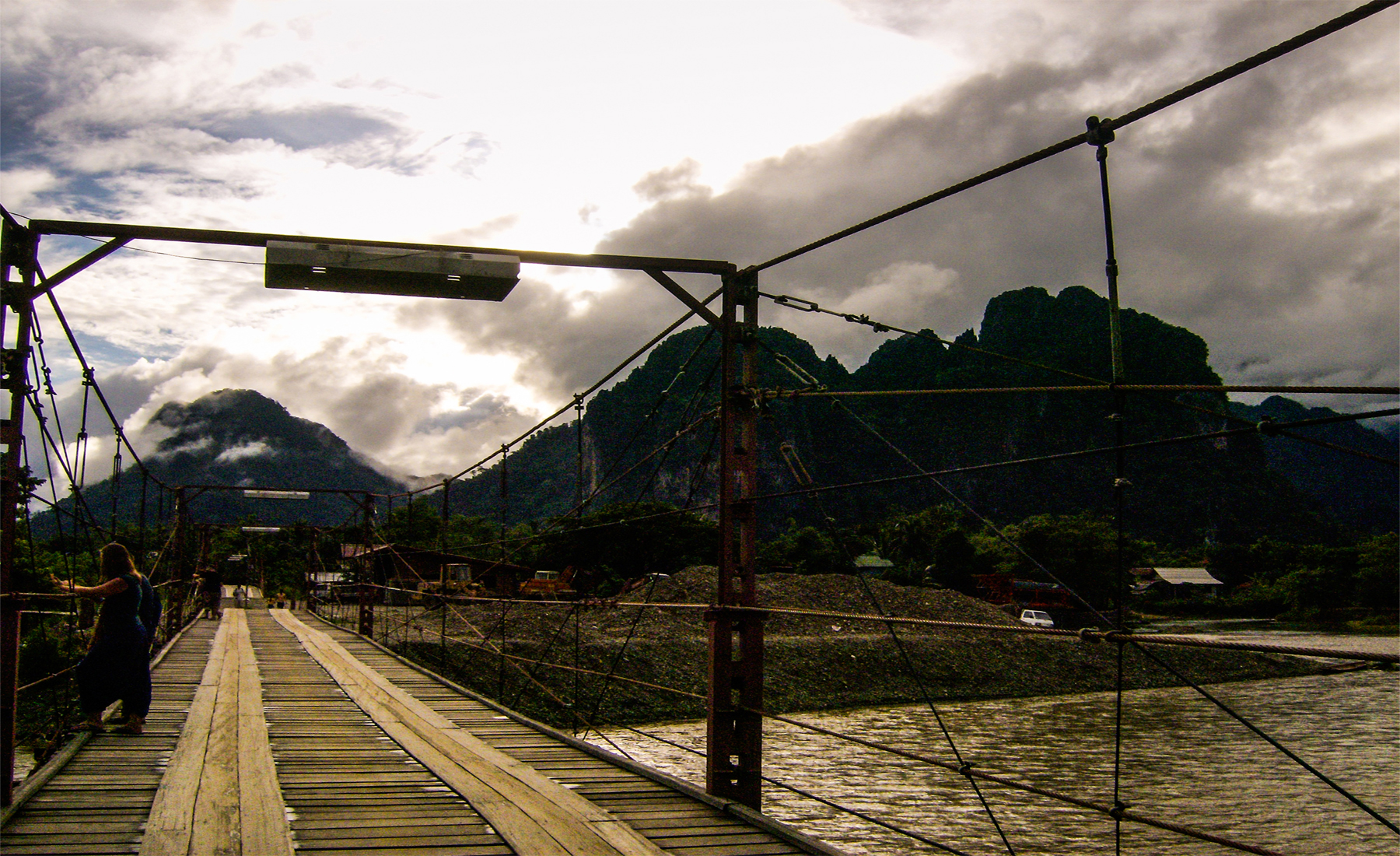 Tea and Tranquility in Vang Vieng