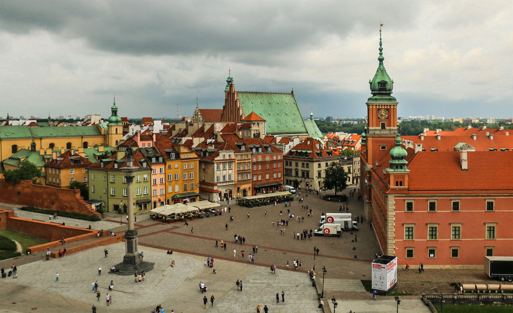 A Few Days in Warsaw, Poland