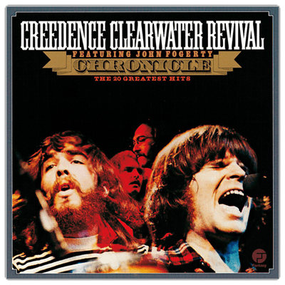 Cover of CCR's greatest hits album