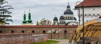 Visiting Targu Mures, Romania
