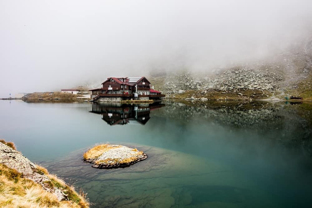 Balea Lake Hotel on Romanias Transfagarasan Highway