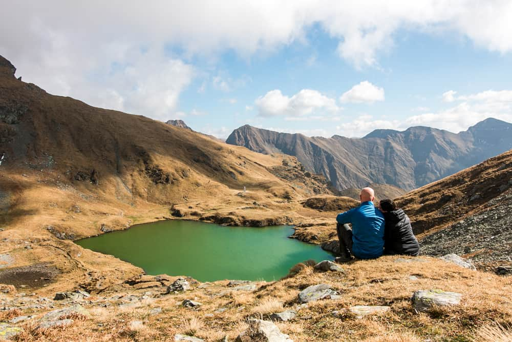 Lac Capra at the Transfagarasan Summit