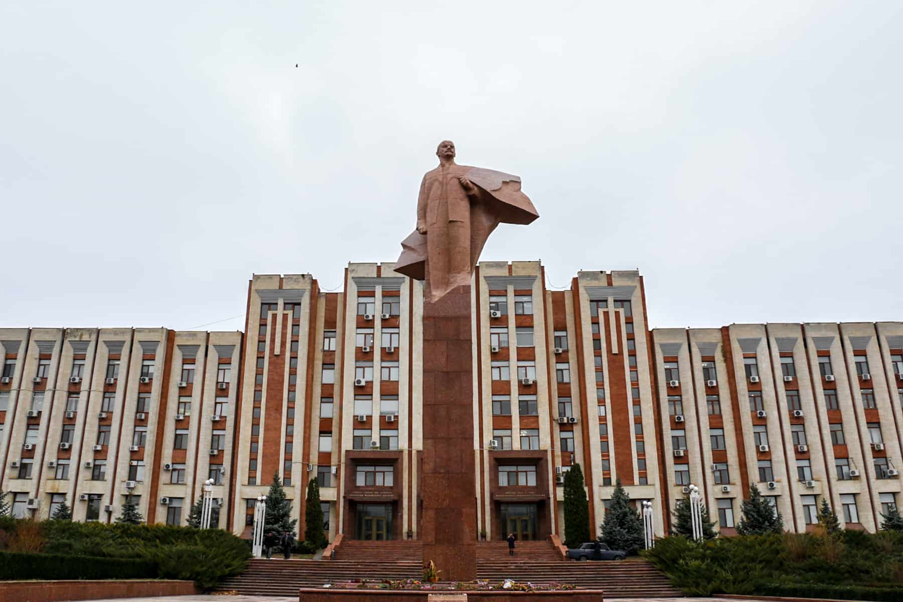 Statue of Vladimir Lenin in Tiraspol