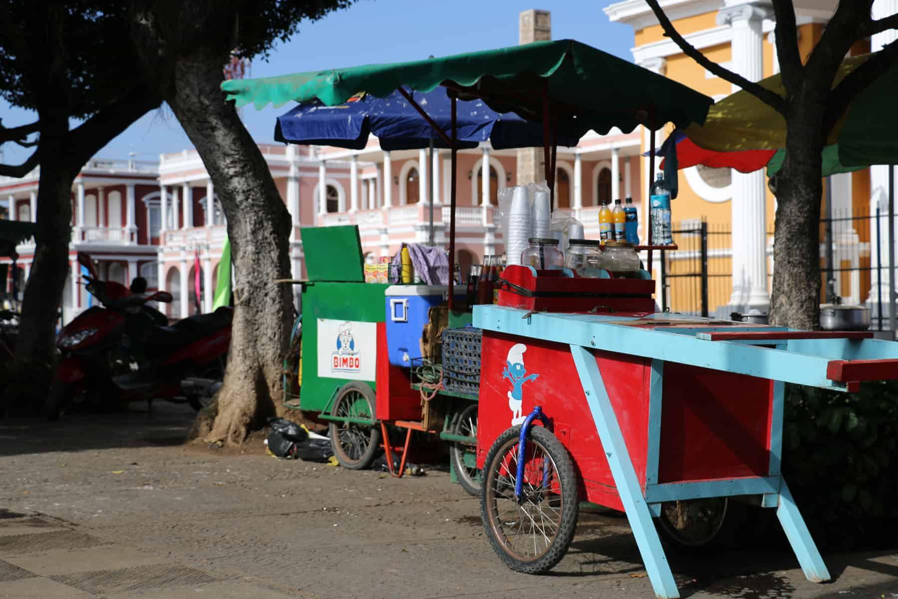 Budget food in Granada Nicaragua
