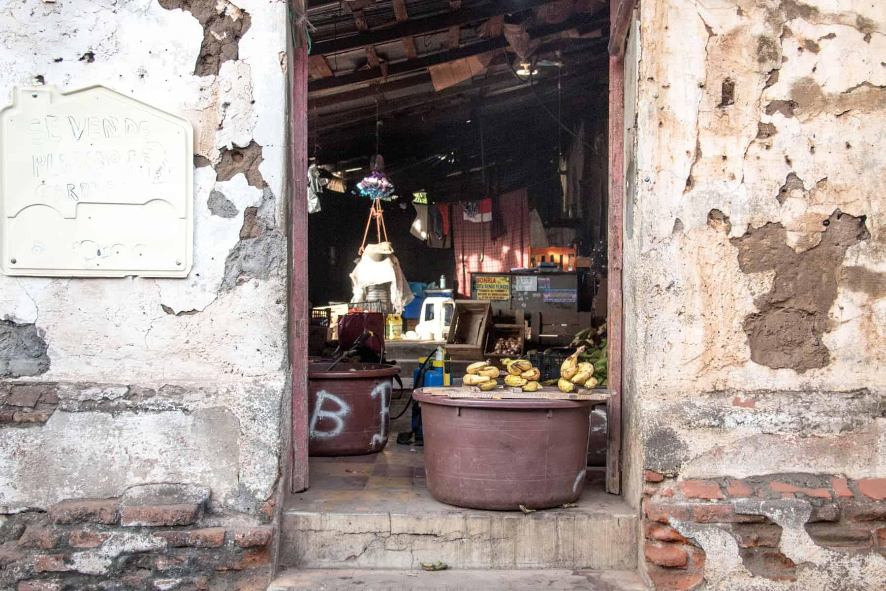 Store front in San Miguel El Salvador